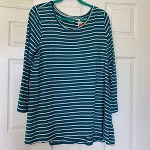Women's striped tee